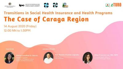 IPC eTURO features Caraga on Universal Health Care Implementation amidst COVID-19 Pandemic